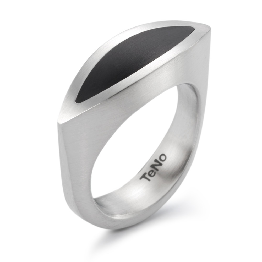 Fingerring TeNo Design Ring NaVa mit Keramik 064.1900.D26.XX