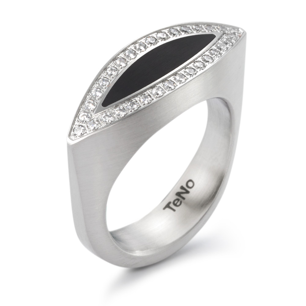 Fingerring TeNo deluxx Ring NaVa mit Brillantpavée 32 x 0,008 ct 064.19P01.D26.XX
