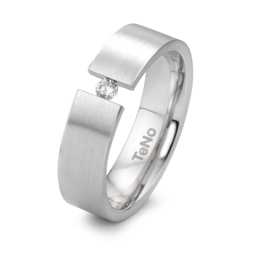 Fingerring TeNo Brillant Spannring YuNis mit 0,06 ct Brillant 069.0227.XX