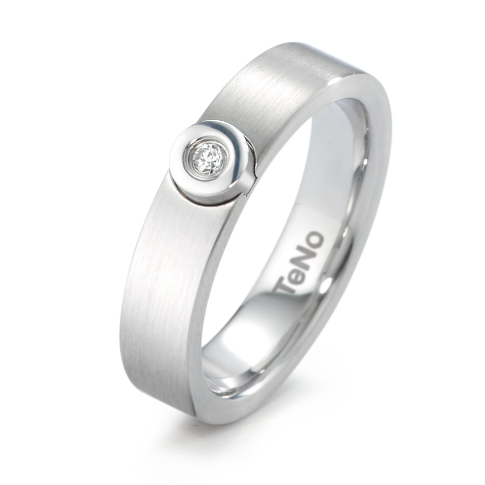 Fingerring TeNo Ring Adit mit 0,04 ct. TW/si   069.18Z14.XX