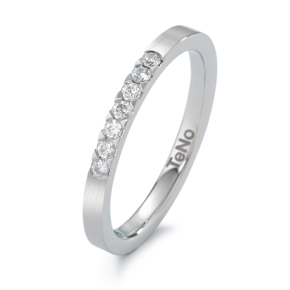 Fingerring TeNo Memoire Ring mit Brillant 0,02 ct 069.24M72.XX
